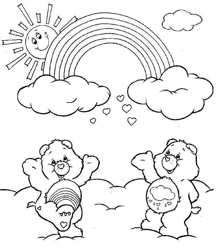 free rainbow activity sheets coloring pages find the latest news on coloring pages at - Rainbow Picture To Colour