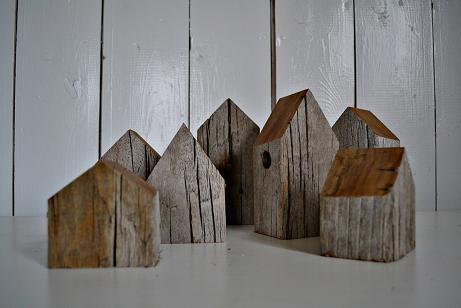 zouthout huisjes