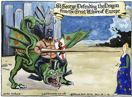 16 January 2014 - George Osborne backing the bankers.