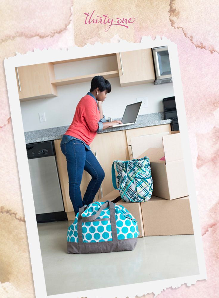 Making a change? Bring the Retro Metro Bag and the Retro Metro Weekender along for the ride!   www.mythirtyone.com/lorikuramoto