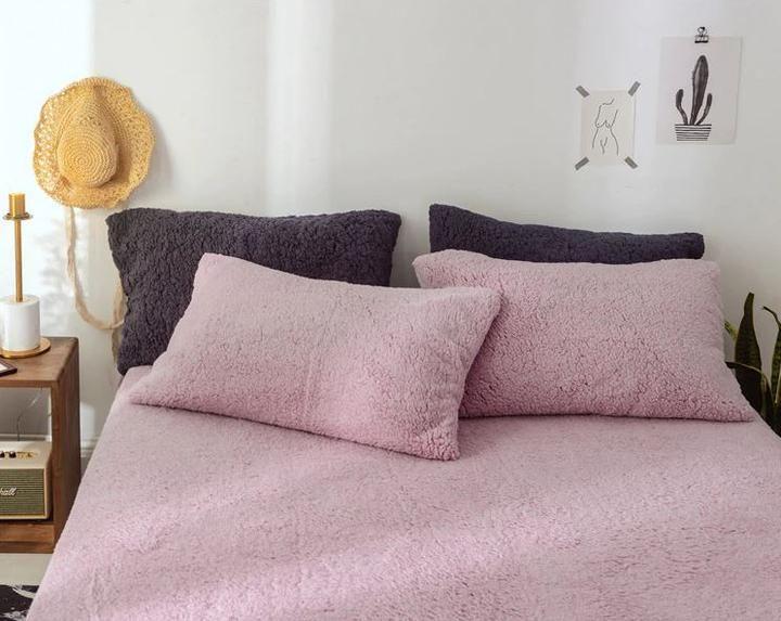 Season Spring Autumn Winter Material Face Side Of Duvet Cover Cashmere Fleece Inside Of Duvet Cover Cashmere Fleece Pillows Pillow Covers Duvet Sets