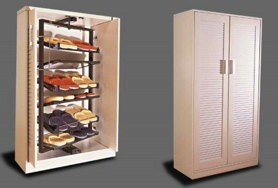 Metal 360 Degree Revolving Shoe Rack For Closet Steel