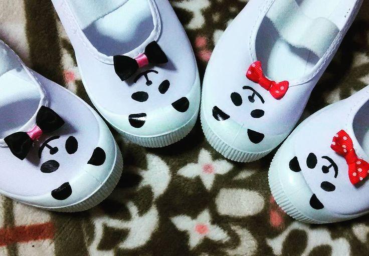 ママの芸術♡上履きデコの可愛すぎるアイデア集 | Handful