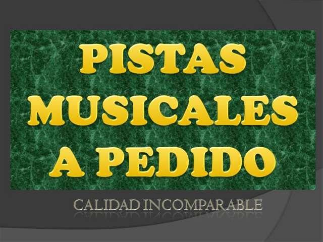 pistas musicales a pedido, todos los estilos y en el tono que quieras  Hago pistas musicales a pedido de gran calidad todos  ..  http://santiago-city.evisos.cl/pistas-musicales-a-pedido-todos-los-estilos-y-id-591714
