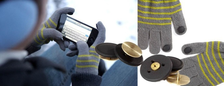 Touchknappar för dina vantar finns hos smartasaker.se