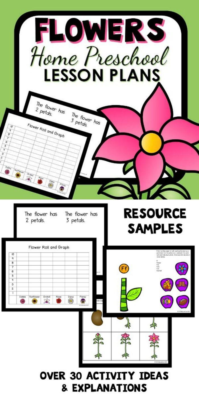Flower Theme Home Preschool Lesson Plans Home Preschool 101 Preschool Lesson Plans Preschool Lessons Classroom Lesson Plans [ 1400 x 700 Pixel ]