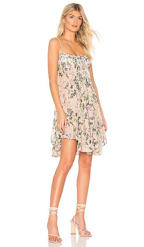 a6aa84fcc698a ROCOCO SAND x REVOLVE Flora Mini Dress in Peach   White