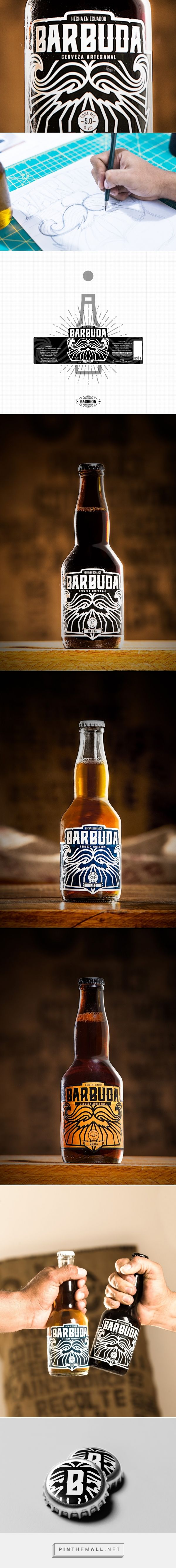 Barbuda Craft Beer packaging design by Urbanofacto Lab - https://www.packagingoftheworld.com/2018/04/barbuda-craft-beer.html