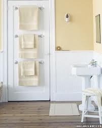 handdoeken netjes opgeruimd!