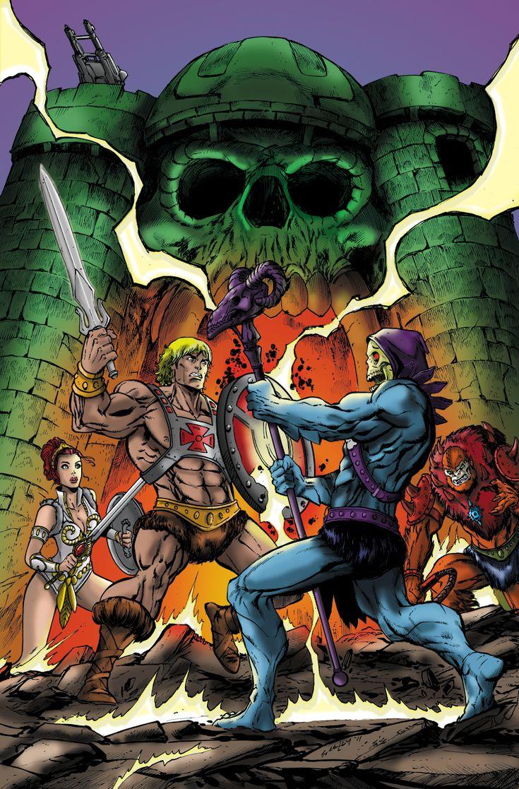 He-Man-vs-Skeletor by ~shubcthulhu on deviantART