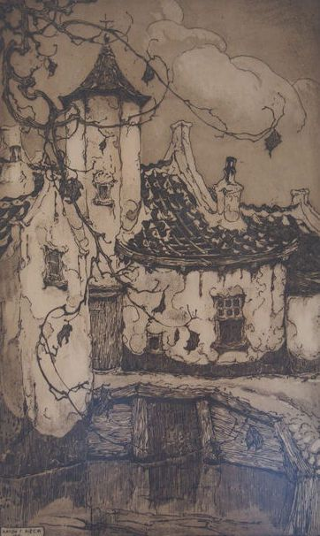 Nu in de #Catawiki veilingen: Anton Pieck (1895-1987)