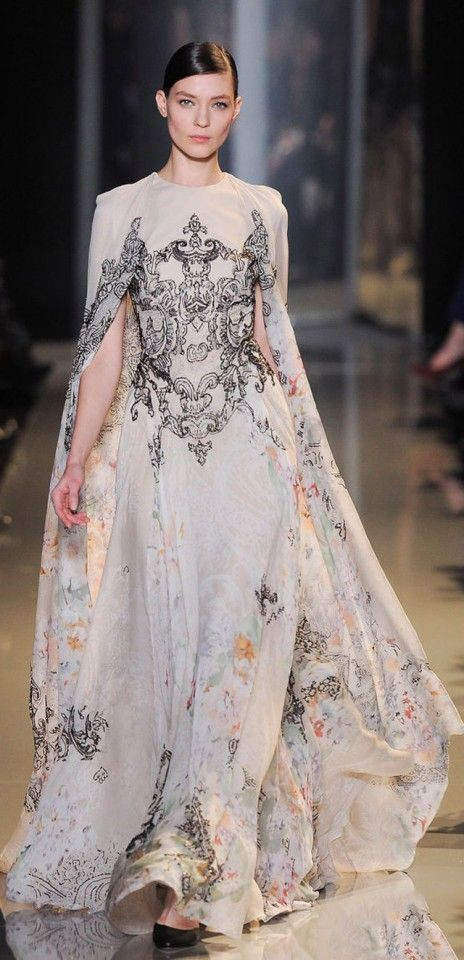 Paris Haute Couture: Elie Saab Spring-Summer 2013