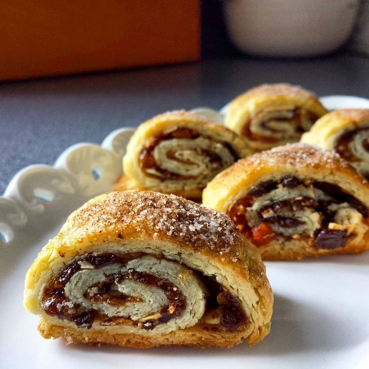 Christmas Baking Advent Day 19: Almond Apricot Rugelach, a ...