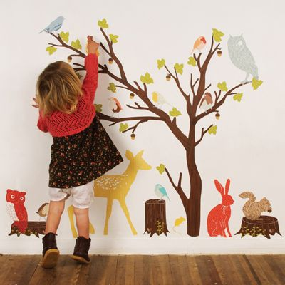 reusable fabric wall decals