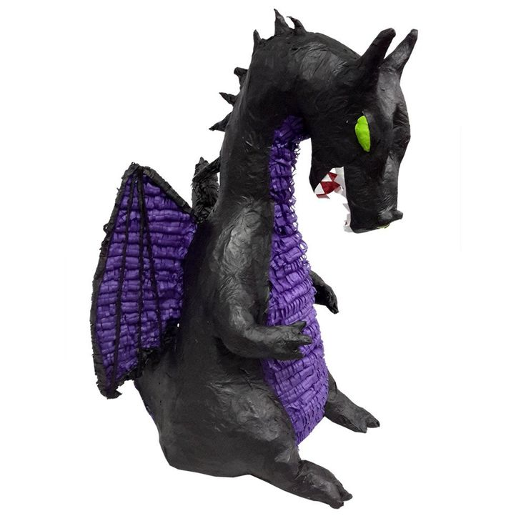 Maleficent Dragon Pinata for your kids birthday party! Buy at pinatas.com, home of custom pinatas of the highest quality and the widest selection of pinatas on the internet.