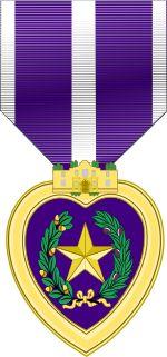 Texas Purple Heart Medal..svg