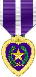 Texas Purple Heart Medal..svg