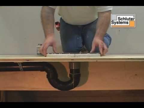 Oatey Shower Pan Liner Installation   YouTube