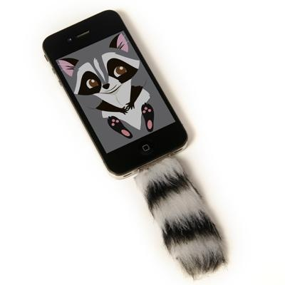 Faux Tail--Raccoon  Who does't love a raccoon? And it is fake fur! $10.00 #gifts
