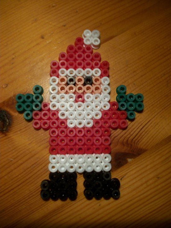 Santa Claus Christmas hama beads by mes-petites-creations-13