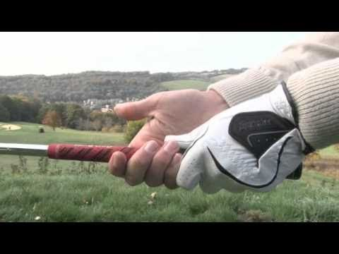 The Golf Grip in detail - YouTube  Your only connection with the #Golf Club  www.game-inglove.com #gameinglove Game-inglove