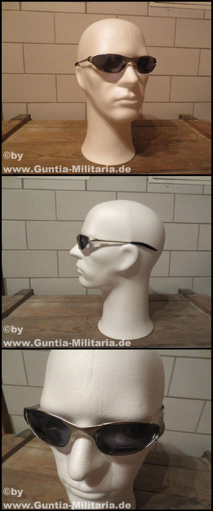 Sportbrille, silber