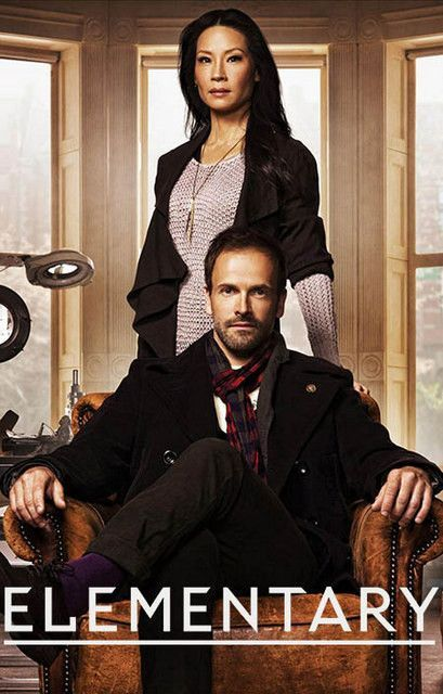 Johnny Lee Miller and Lucy Liu star as Sherlock Holmes and Dr Watson in TV's Elementary - a contemporary adaptation of the classic Sir Arthur Conan Doyle series. Ready for your wall. 11x17 inches.