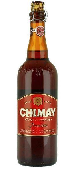 Chimay Premiere: Murky Dubbel Beer from Belgium - http://www.beerz.co.nz/beers-in-new-zealand/chimay-premiere-murky-dubbel-beer-from-belgium/ #NZ #beer #craftbeer