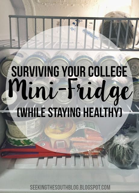 Surviving Your College Mini-Fridge (While Staying Healthy)