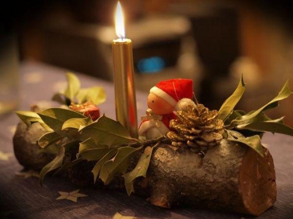 Decoration table naturelle