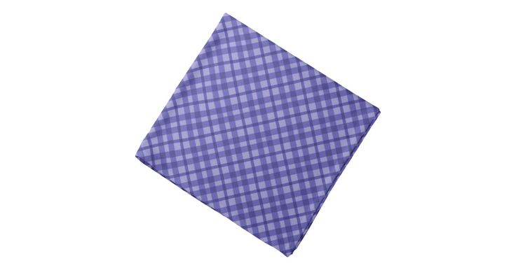 #Scottish #tartan, #buffalo plaid pattern #blue bandana - #accessories #style #fashion #clothing #aqpparel #design #scarf #bandana #kerchief #zazzle