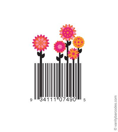 Ok so something can be made out of anything...even barcodes.