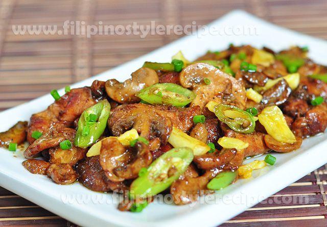Chicken Salpicao | Filipino Style Recipe