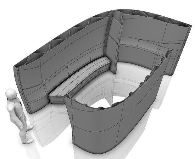 En partenariat avec Dassault Systèmes, la startup française XtreeE réalise une structure au design organique imprimée en 3D