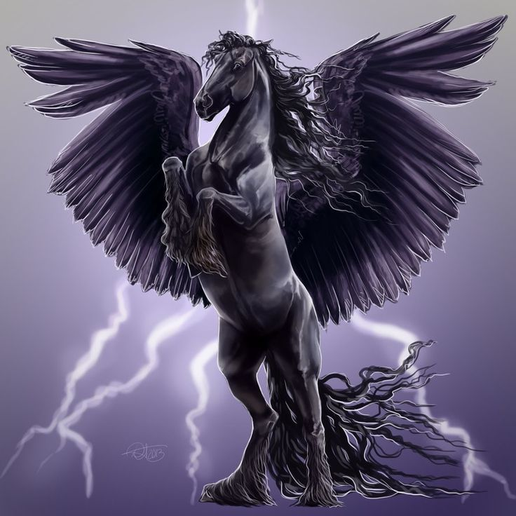 Image result for black pegasus tattoo