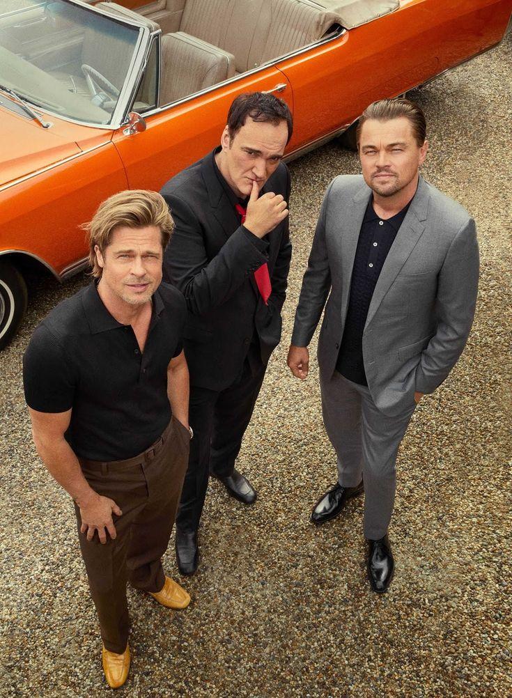 Brad Pitt, Leonardo DiCaprio und Quentin Tarantino für Esquire USA