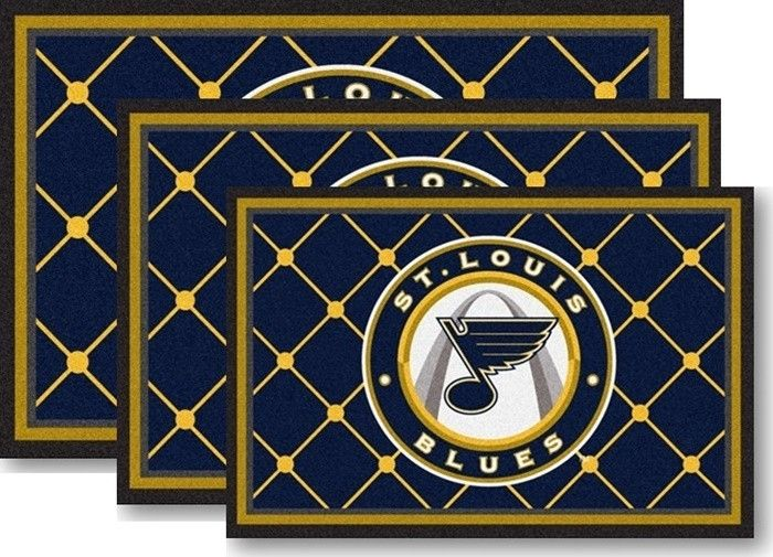 Use the code PINFIVE to receive an additional 5% discount off the price of the St. Louis Blues NHL Area Rugs at sportsfansplus.com