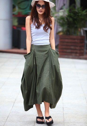 af3a6f8d52f0d9 9 moderne und Stilvolle Sommer Röcke für Frauen #Kleider | Kleider ...
