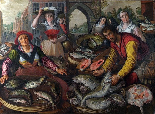 Joachim Beuckelaer - The Four Elements: Water [1569]