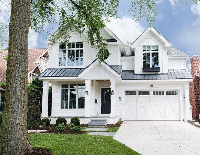 35 Modern Farmhouse Exterior Ideas In 2020 Modern Farmhouse Exterior Modern Farmhouse Interiors Farmhouse Exterior
