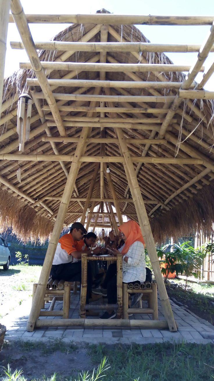 Foodstall @ Sahabat Bambu; Cangkringan str; Sleman; Yogyakarta; Indonesia.