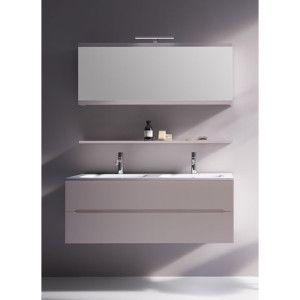 Mobile Bagno Venere doppio lavabo da 120 cm con 2 cassettoni (vari colori)