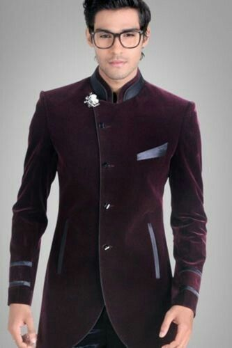 Groom Coat Purple Wedding Suit Ideas For Men