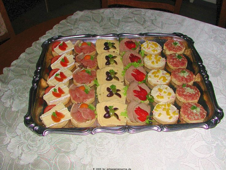 birthday brunch ideas images of kalte platte fingerfood. Black Bedroom Furniture Sets. Home Design Ideas