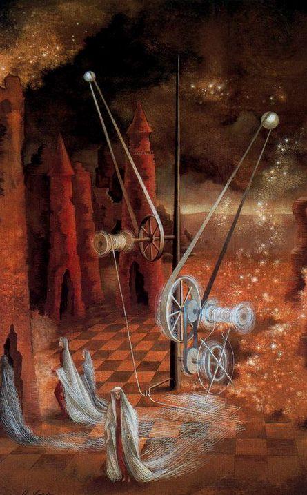 nocttis: Remedios Varo Premonition, 1953