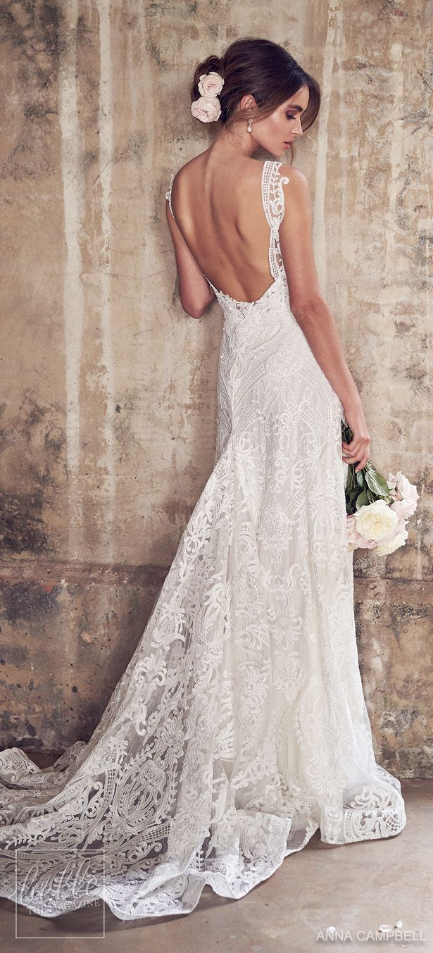 Anna campbell wedding dresses wanderlust bridal collection