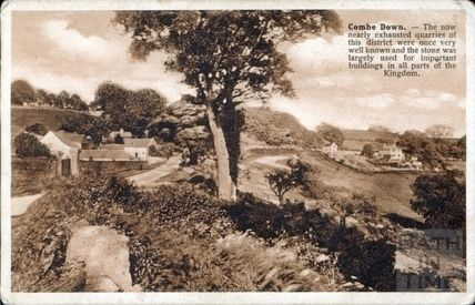 Combe Down, Summer Lane c.1910