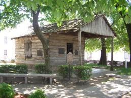 Albert Pike's School House - Van Buren, Arkansas