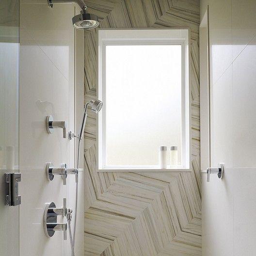 Baker project gary hutton master bath steam shower for Unique master bathrooms