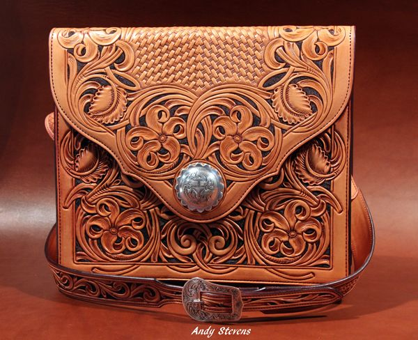 Andy Stevens Saddlery : Custom Leather Accessories-SR